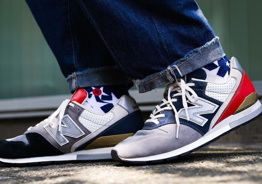 New Balance Adds Asymmetric Color Blocking To The 996 OG