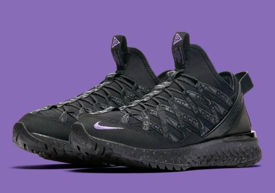 Nike ACG Terra Gobe Returns In Stealthy Black And Purple