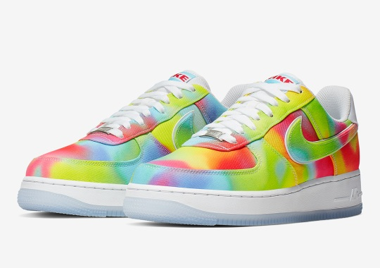 This Tie-Dyed Nike Air Force 1 Celebrates Chicago And The Summer Of Peace
