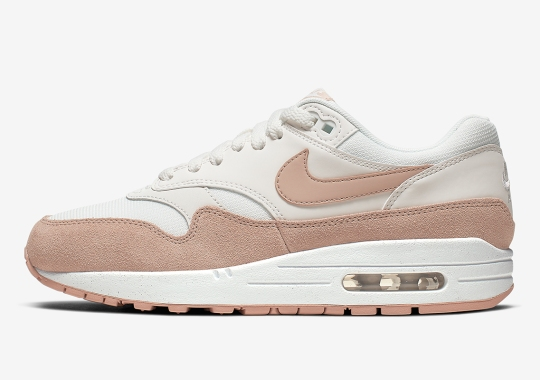 Sandy Suede Mudguards Appear On This Women's Nike Air Max 1
