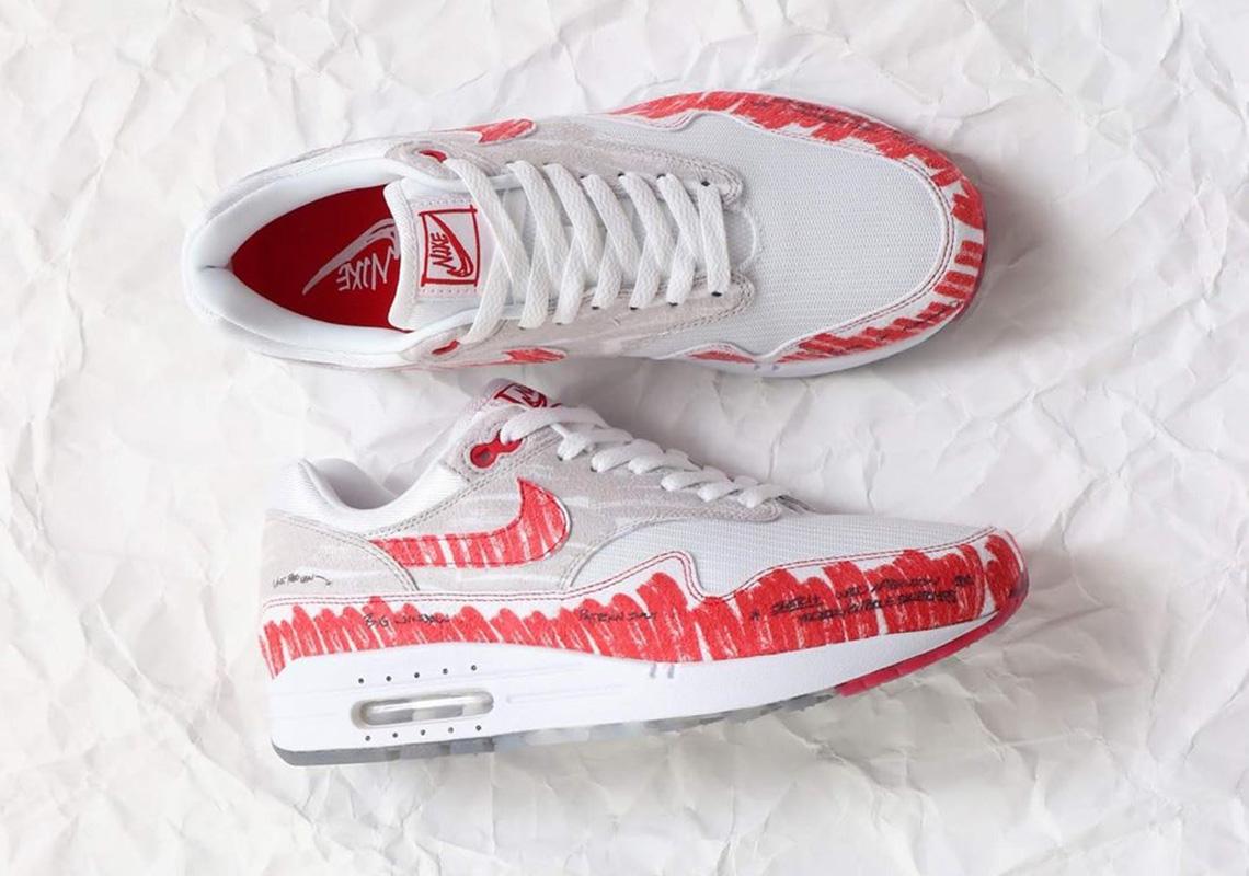 Nike Air Max 1 Sketch To Shelf CJ4286 101 Release Date