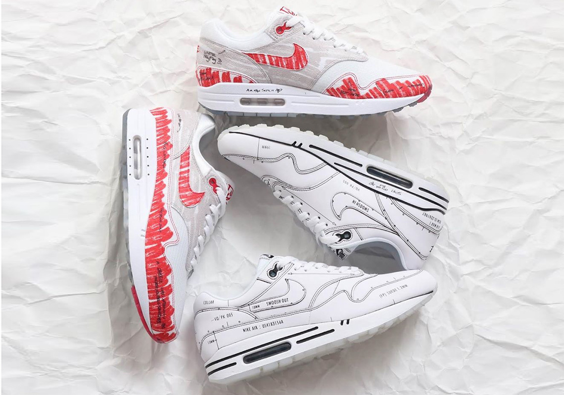 Nike Air Max 1 Sketch To Shelf CJ4286-101 Release Date | SneakerNews.com
