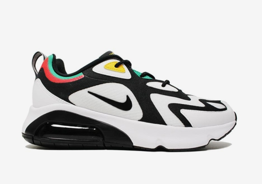 """The All-New Nike Air Max 200 Gets A """"Rasta"""" Colorway"""