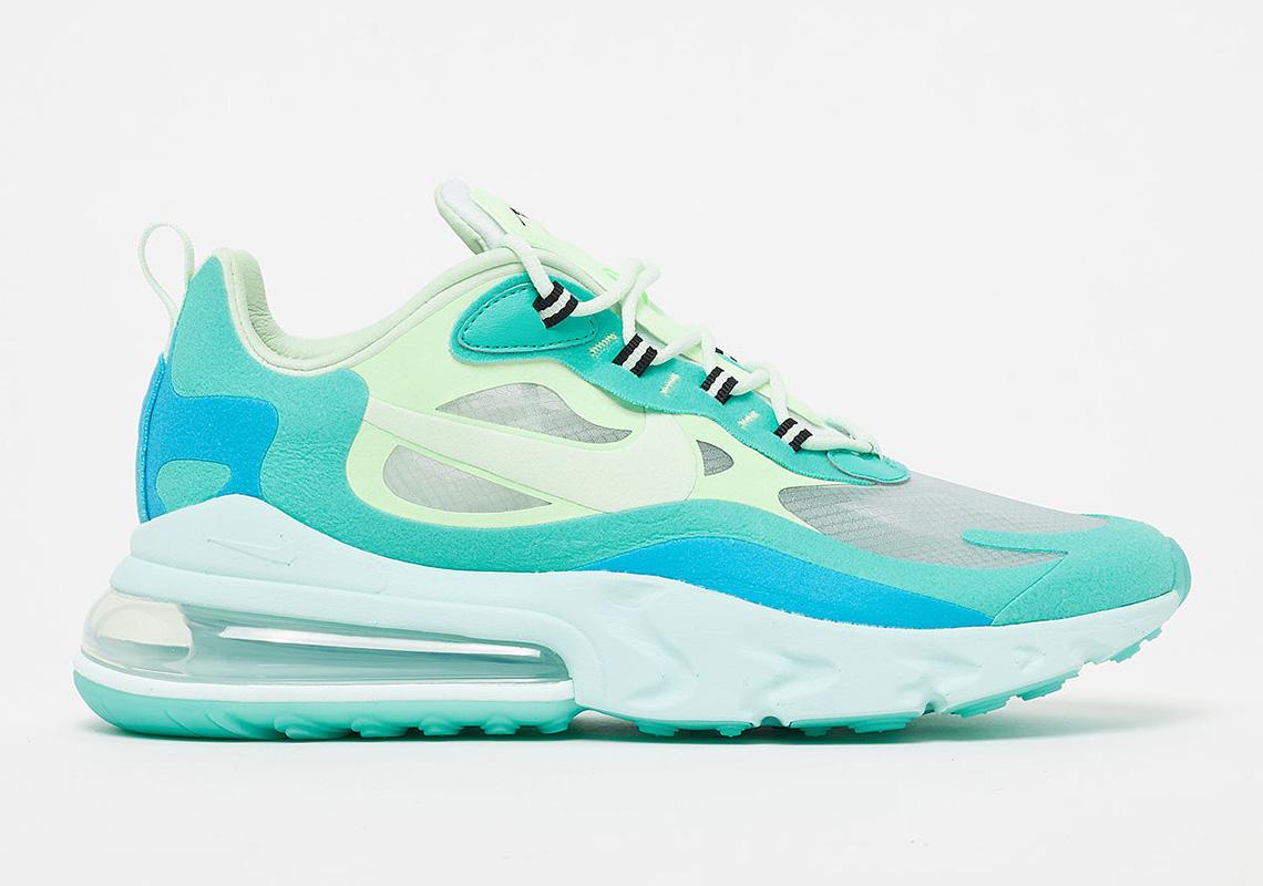 Nike Air Max 270 React AO4971-301 Hyper Jade Store List ...