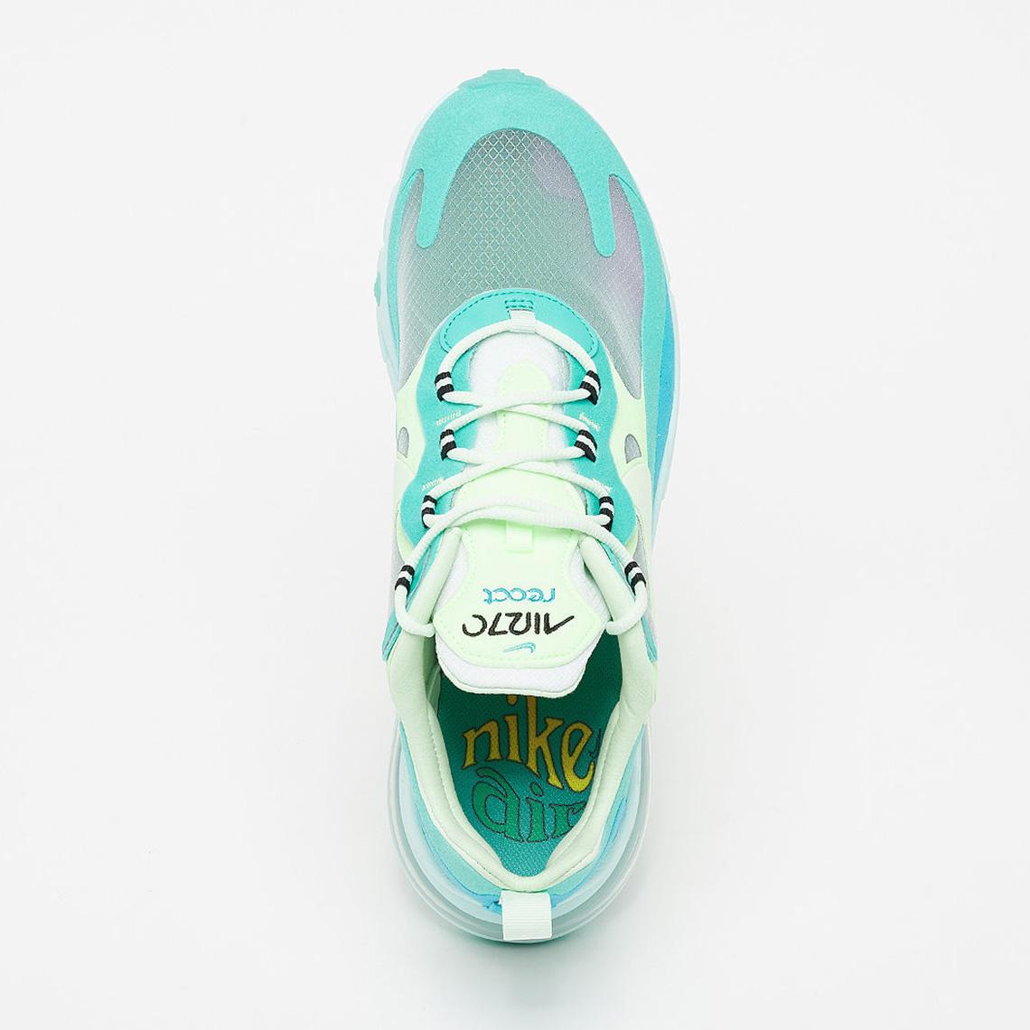 descuento Shelta Nike Air Max 270 React Hyper Jade (AO4971