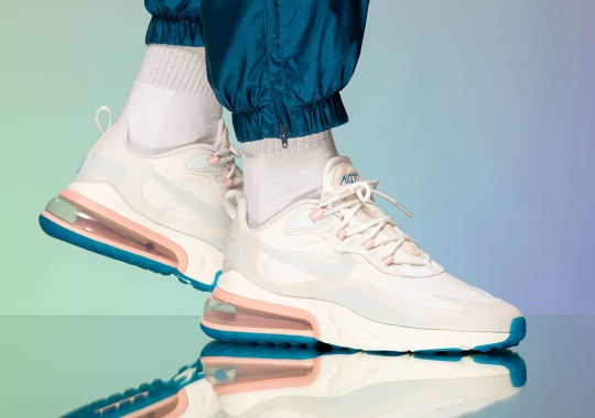 """The Nike Air Max 270 React """"Summit White"""" Releases On August 1st"""