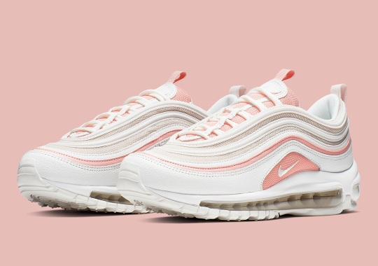 The Nike Air Max 97 Gets The Perfect Summer Colorway With Bleached Coral
