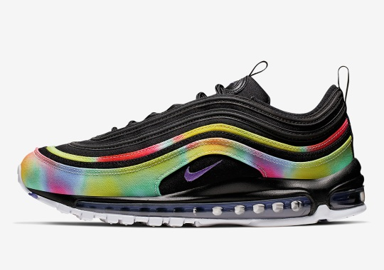 Nike Adds Color-Blotted Rainbow Uppers To This Air Max 97