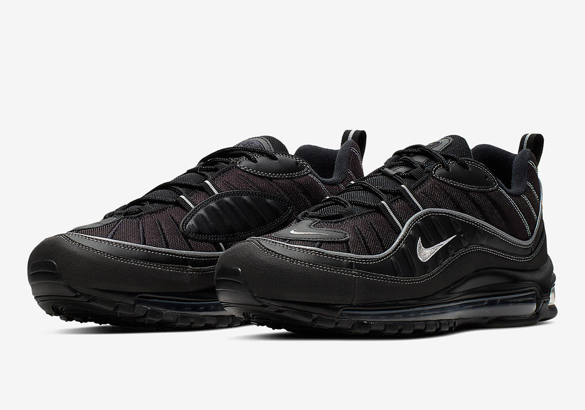 Nike Air Max 98 Black Grey 640744 013 Release Info Sneakernews Com