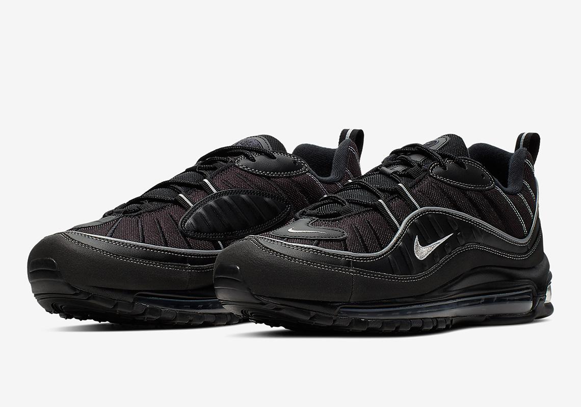 Nike Air Max 98 Black/Grey 640744-013
