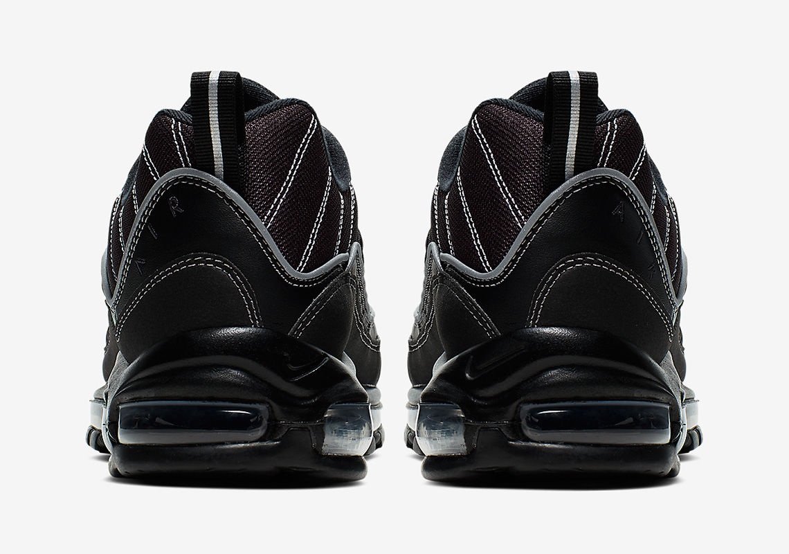Nike Air Max 98 BlackGrey 640744 013 Release Info