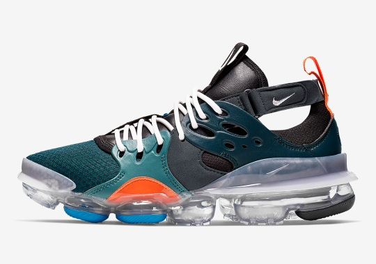 Nike Equips Its Latest D/MS/X Creation With Vapormax Soles