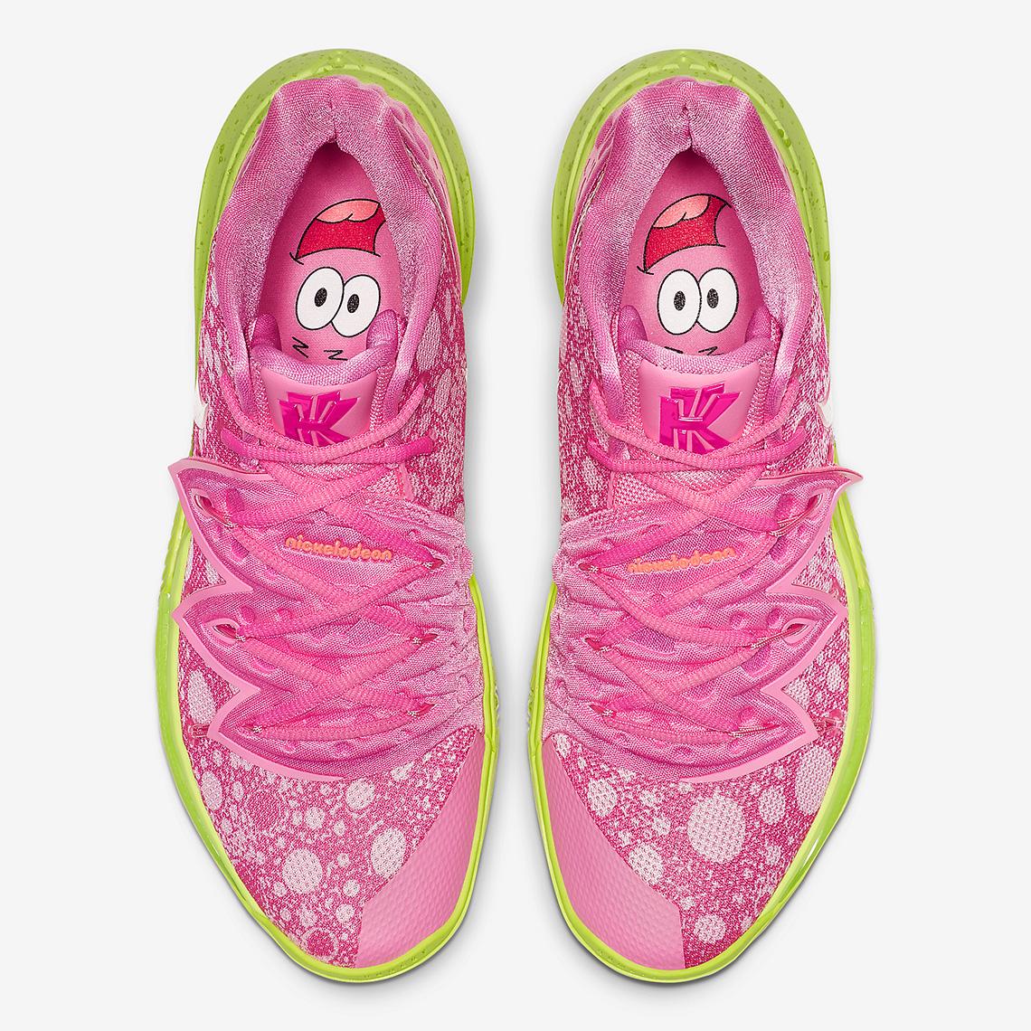 Spongebob Nike Kyrie 5 Patrick Star
