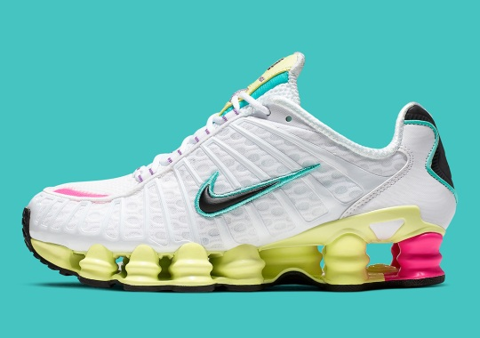 The Nike Shox TL Holds On To Pastel Hues