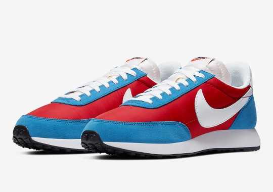 The Classic Nike Tailwind 79 Features Vintage Blue And Red Uppers