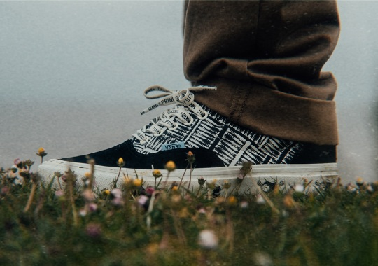 Offspring And Vans Bring Classic Pirate Pattern With HERRING-BONE Capsule