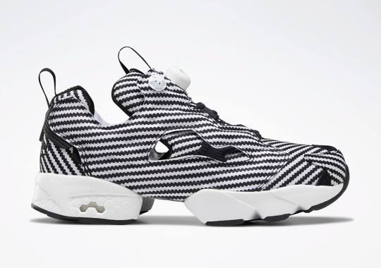 The Reebok Instapump Fury Dresses Up In Faux Carbon Fiber
