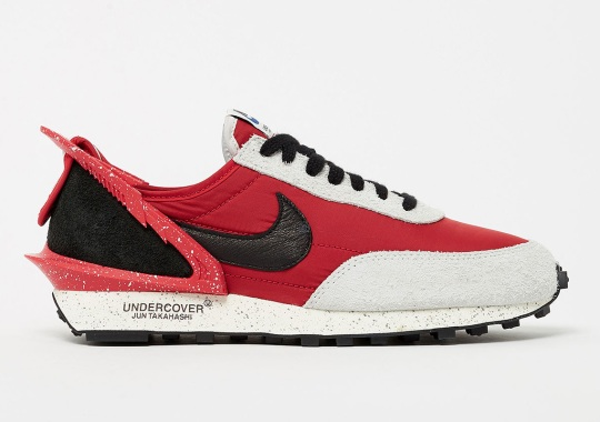 The UNDERCOVER x Nike Daybreak Is Arriving Soon In Red And Black