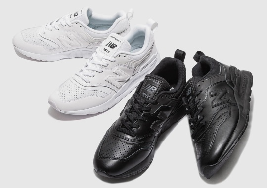 Beauty & Youth Dresses The New Balance 997H In Monochromatic Leather