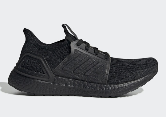 "adidas Ultra Boost 19 ""Triple Black"" Arrives On July 18th"