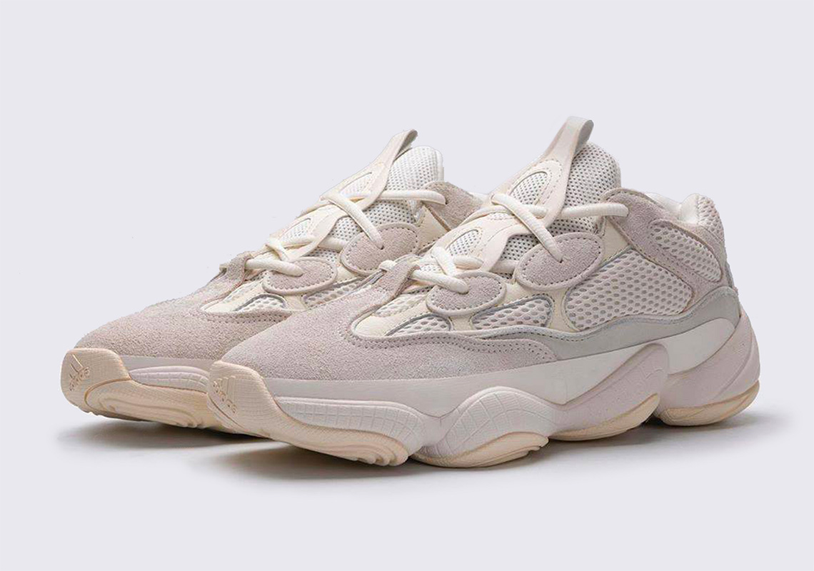 buy popular 5e3dc adf73 adidas Yeezy 500 Bone White Release Info + Photos ...