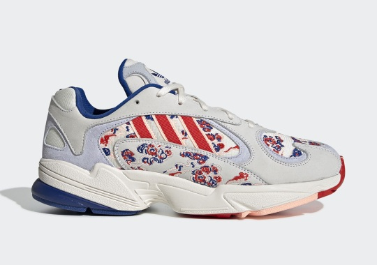This adidas Yung-1 Features Japanese-Style Cloud Embroidery