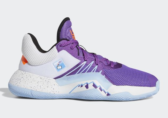 "adidas Delivers A ""Mailman"" Version Of Donovan Mitchell's Shoes"