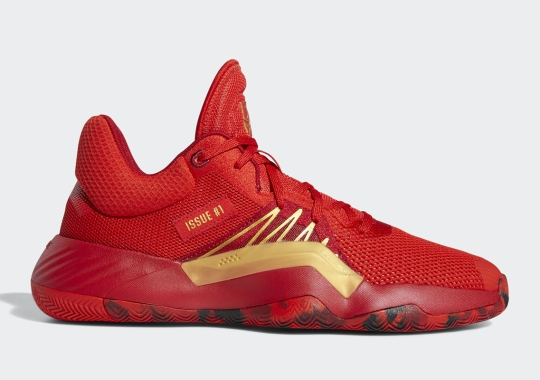 Donovan Mitchell Dons The Iron Spider-Man Suit With Upcoming adidas Release