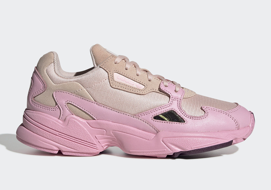 adidas falcon rose femme