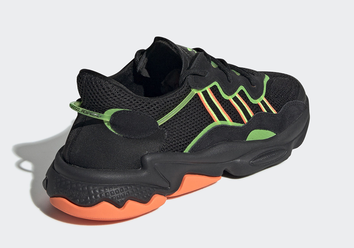 adidas Ozweego Black Orange Green EE5696 Release Date ...