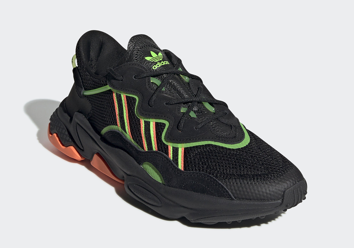 étnico datos Alegrarse  adidas Ozweego Black Orange Green EE5696 Release Date | SneakerNews.com