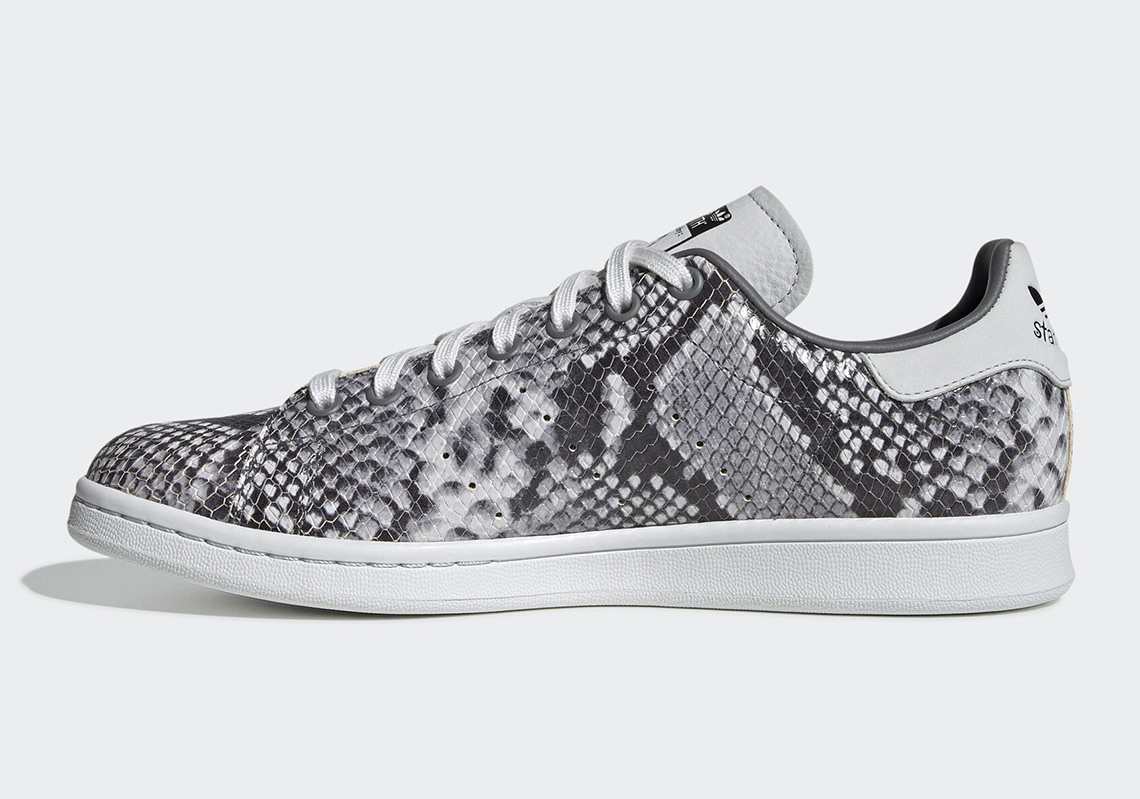 biggest discount on wholesale dirt cheap adidas Stan Smith Snakeskin EH0151 Release Date ...