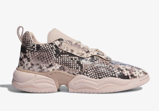 The adidas Supercourt RX Gets Swathed In Luxurious Snakeskin