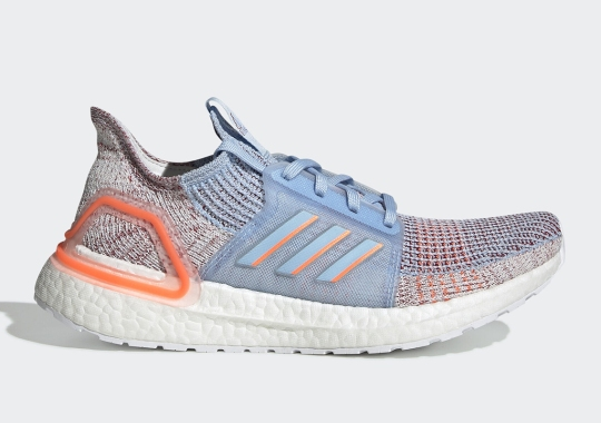 The adidas Ultra Boost 19 Appears In Hi-Res Coral