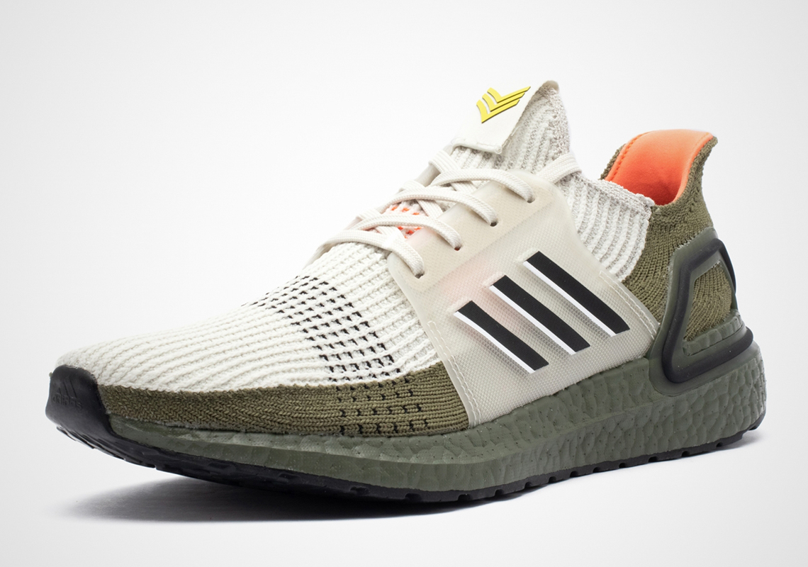 sports shoes fbb85 dca76 adidas Ultra Boost 19 Olive G27510 Release Date ...