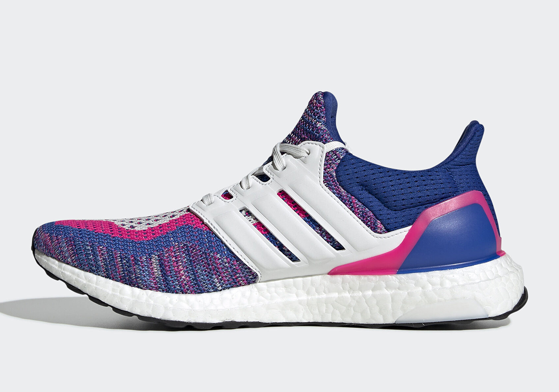 adidas Ultra Boost Multicolor White Blue Pink EG8107 Release