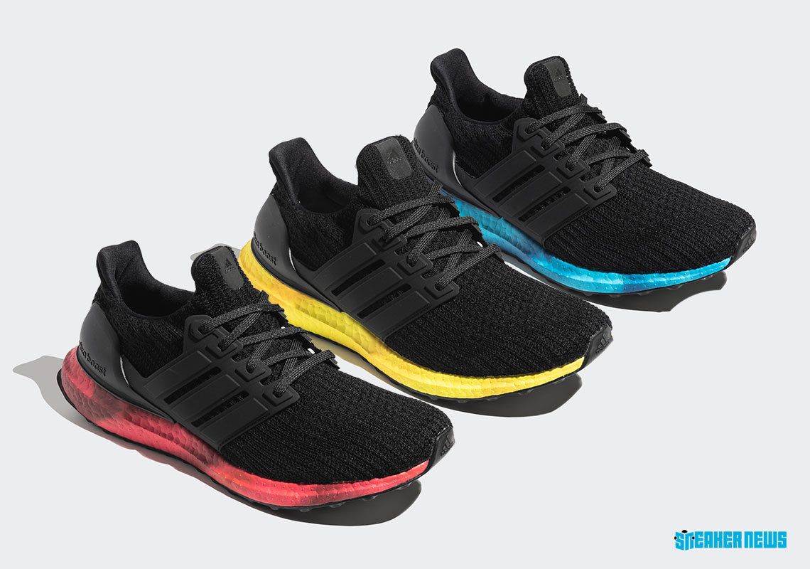 adidas Ultra Boost Colored Sole FV7282 FV7281 FV7280 Release Info | SneakerNews.com
