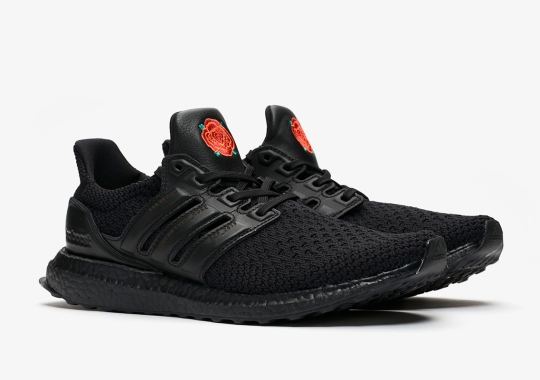 ed068be8 This Triple Black adidas Ultra Boost OG Is For Manchester United