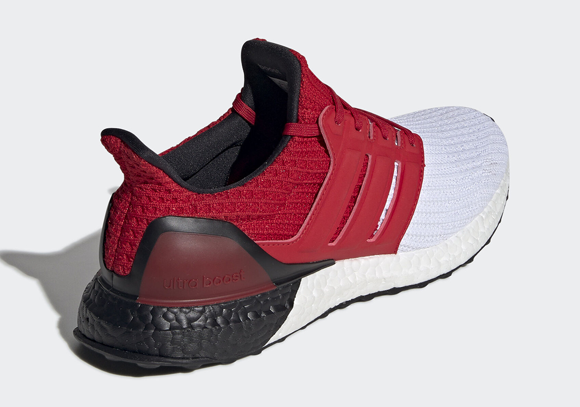 adidas Ultra Boost 4.0 White Red Black