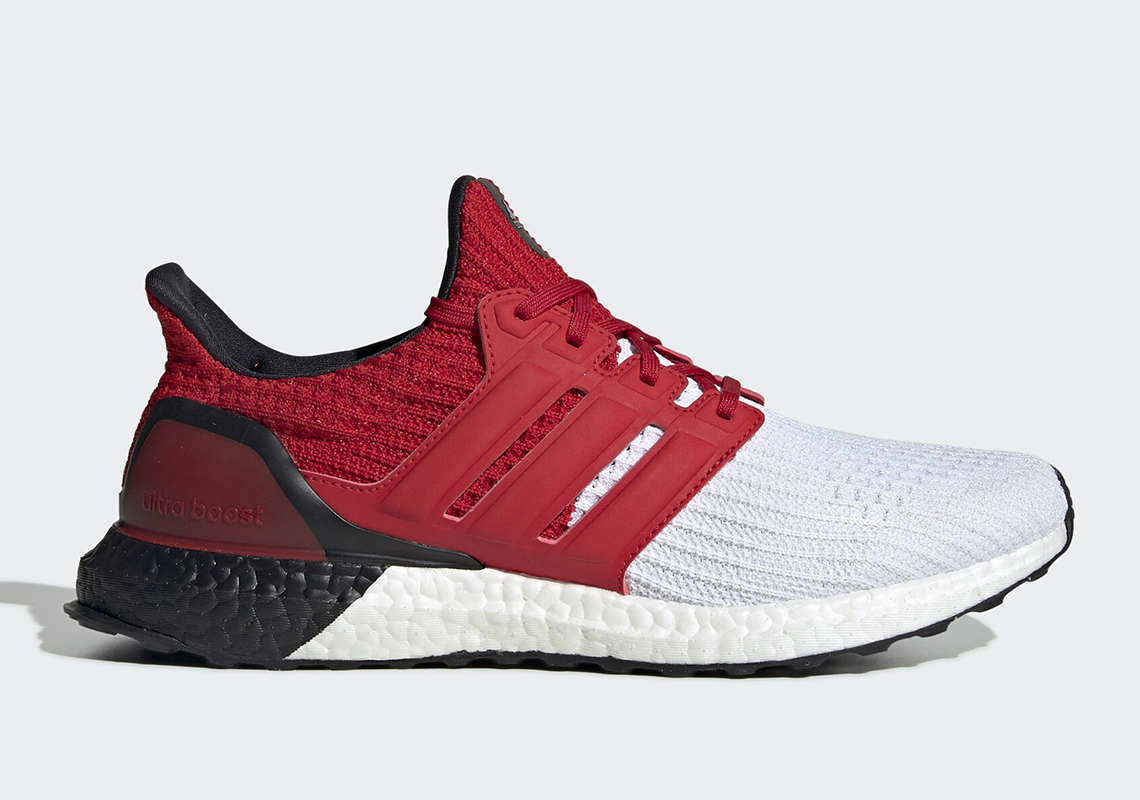 new style 0d239 85e49 adidas Ultra Boost 4.0 White Red Black G28999 Release Info ...