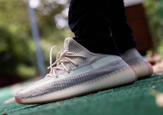 """Detailed Look At The Upcoming adidas Yeezy Boost 350 v2 """"Citrin"""""""