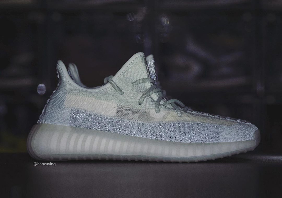 adidas Yeezy 350 v2 Cloud White Reflective | SneakerNews