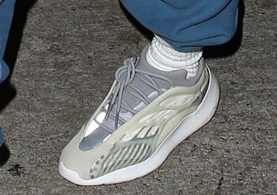 Kanye West Spotted In Brand New adidas Yeezy Model