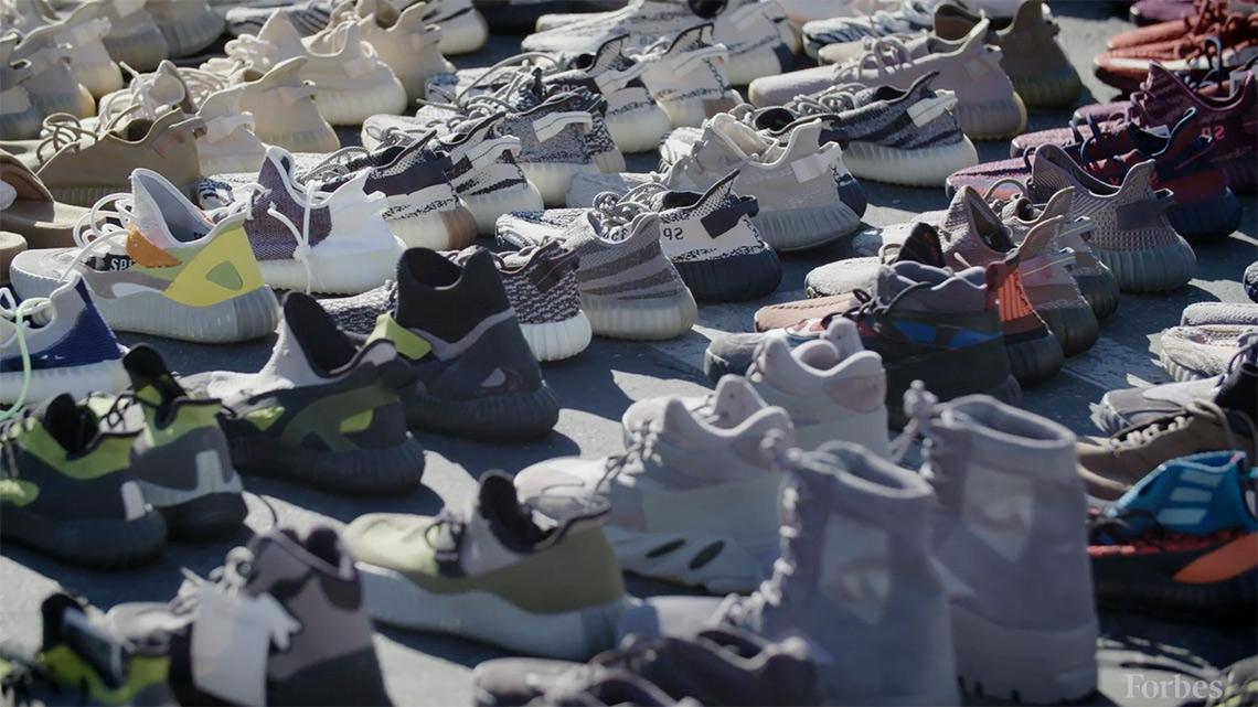 Kanye West adidas Yeezy Forbes