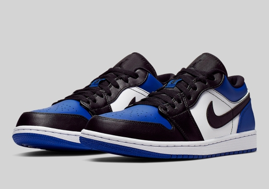 "Air Jordan 1 Low ""Royal Toe"" Is Available Now"