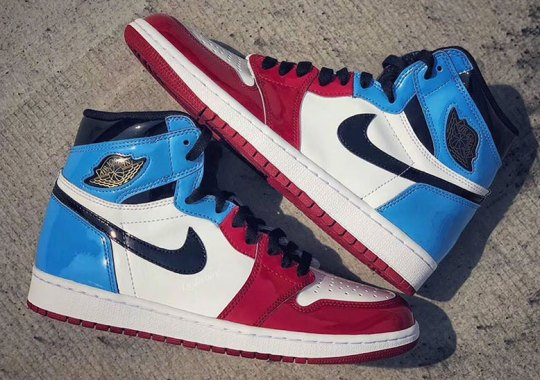 "Air Jordan 1 Retro High OG ""Fearless"" Features UNC And Chicago In Patent Leather"