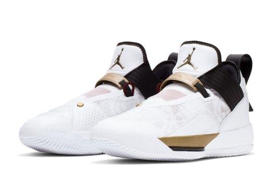 "Air Jordan XXXIII SE ""FIBA"" Launching In August"