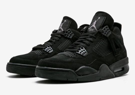 "Air Jordan 4 ""Black Cat"" Returning On February 22nd, 2020"