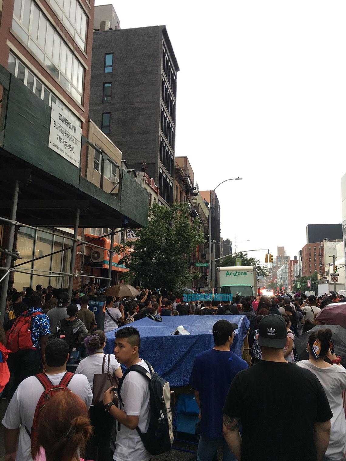 NYPD Shuts Down AriZona Iced Tea adidas Release