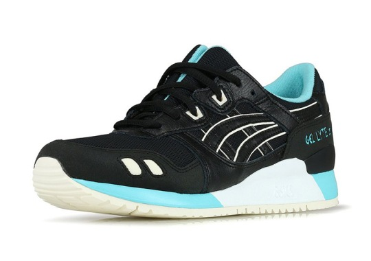 The ASICS GEL-Lyte III Resurfaces In New Black And Turquoise Colorway